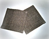 Natural Linen Coasters - Set Of Four - You Can Choose the Color