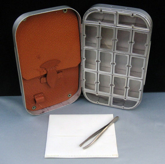 Sale Vintage Metal Wheatley Fishing Compartment Dry Fly Box