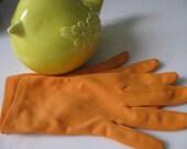 Lovely Orange Sherbert Gloves Spring Has Sprung