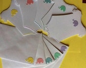 Baby Shower thank you cards for girl or boy - set of 10  with Matching envelopes