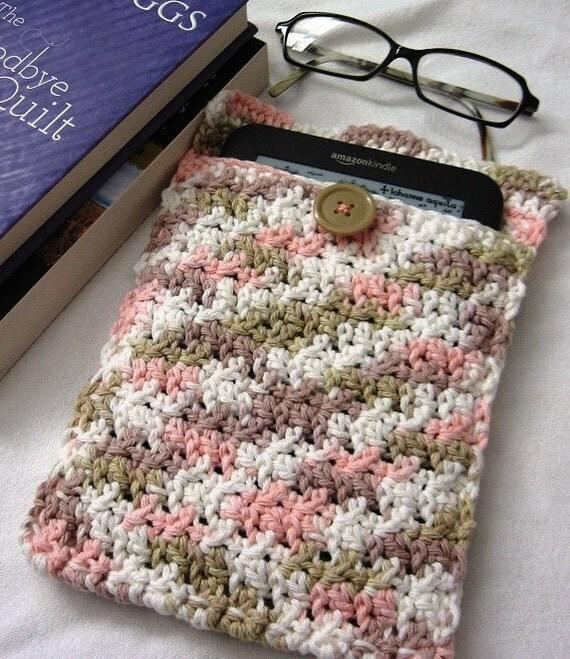 "Hand Crocheted Kindle ""Kover"""