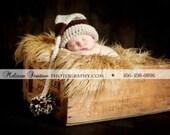 newborn baby boy elf hat  photo props photography