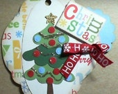 Christmas mini scrapbook