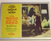 Lobby Card from the Movie The Birds and The Bees