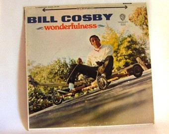 Vintage Bill Cosby LP Wonderfulness Vinyl Record Album