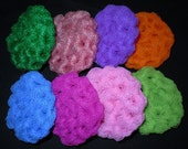 Pot Scrubbys, Hand-Made, Crochet, Nylon,  (Set of 3)