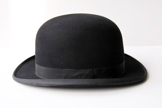 Billy Coke Black Dobbs Derby Bowler Hat and Box
