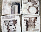 Stone Coasters, Marble Coasters, Antique Architecture