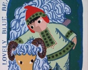 Lovely Blue Beastie        by Barbara Fernekes Hughes