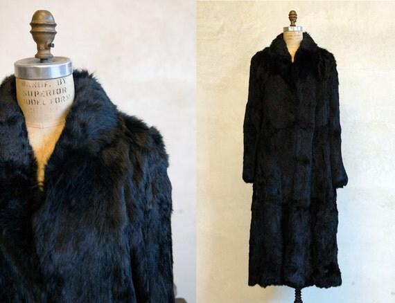 Vintage 60s Fur Coat // Long Way Home