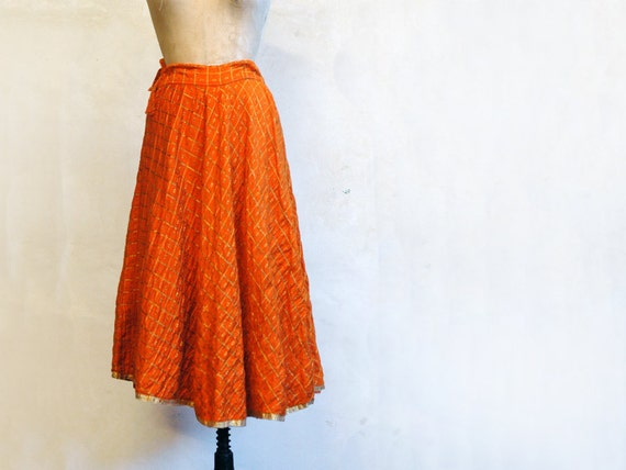 Vintage 70s Skirt // The Bollywood Gypsy