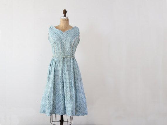1950s dress // Vintage Garden Party Dress - 86Vintage86