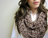 Taupe Infinity Scarf ONE LEFT