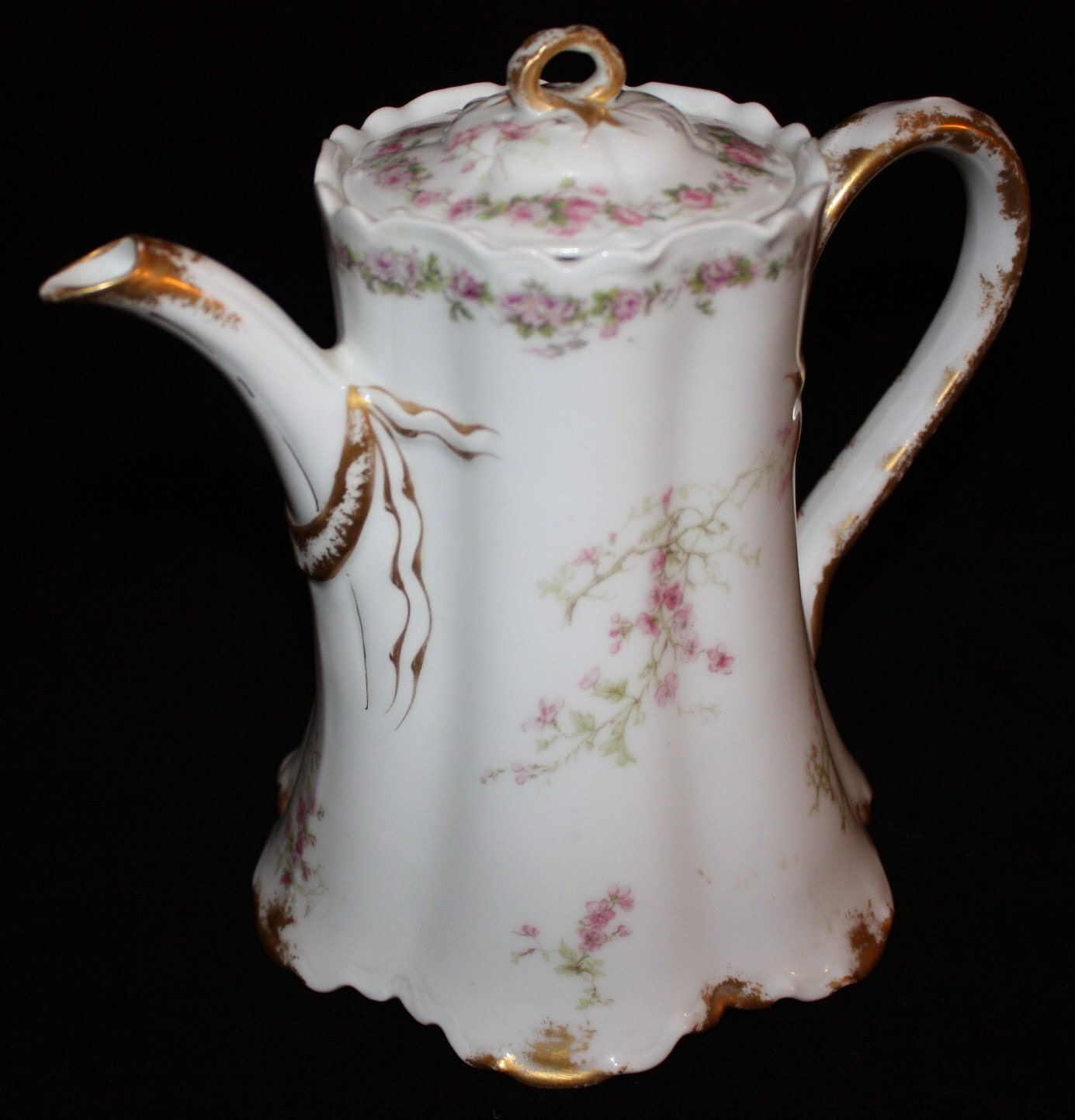 Antique Haviland & Co. Limoges France Coffee Pot