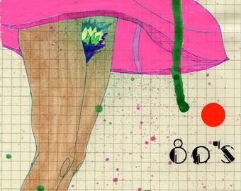 50 Bucks: 80's Marilyn Original Art