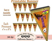 Halloween Hanging Banner 1 - Digital Printable