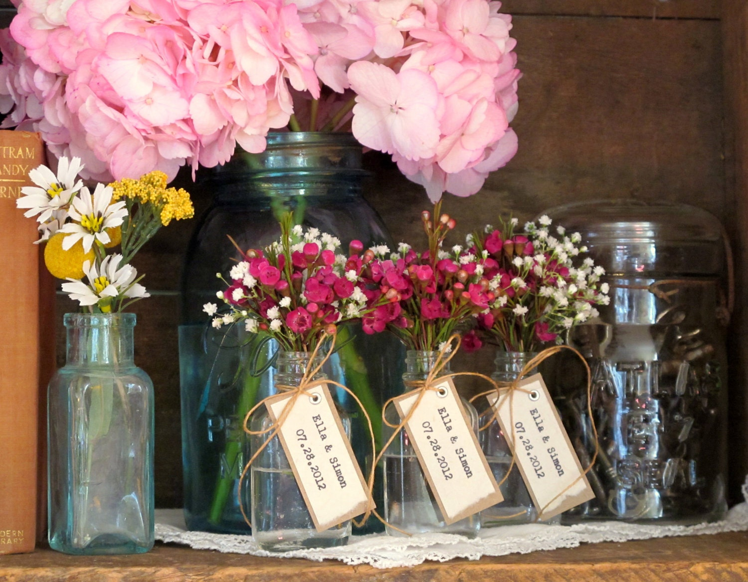 Unique wedding favor bridal shower apothercary by
