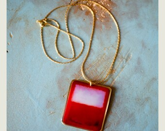 Rothko RED Necklace