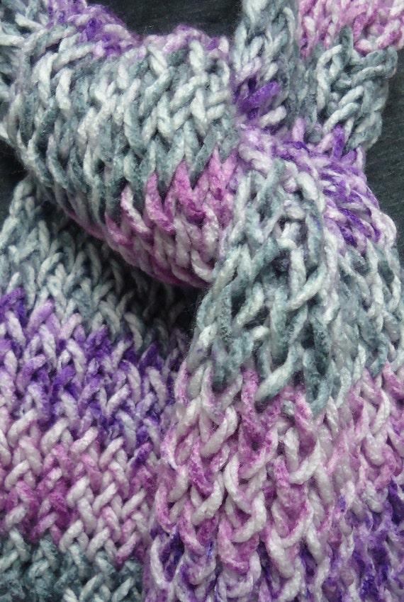 Knitted Scarf - Majesty