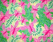 Authentic New Lilly Pulitzer Fabric Summer Fling 1 Yard x 57 inches