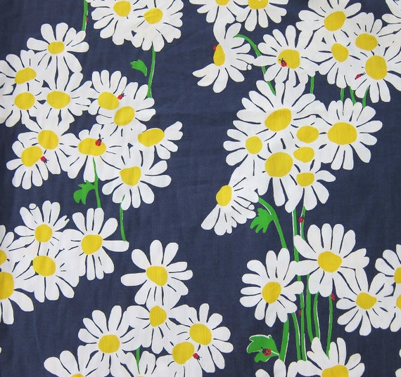 Authentic New Lilly Pulitzer Fabric 2011 Bright Navy Look Lady 2 Yards x 56 inches