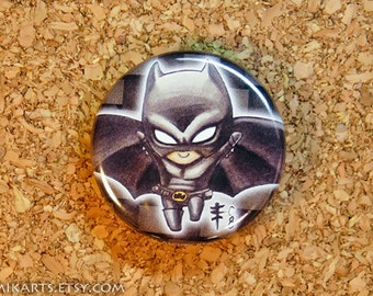 Chibi Batman Pin-back Button