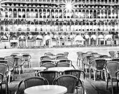 Photos for Interior: Empty Cafe in St. Mark's Square, Venice Fine Art Print, Italy, Night Scene, Infrared, 8x10 by ARTindividual on Etsy