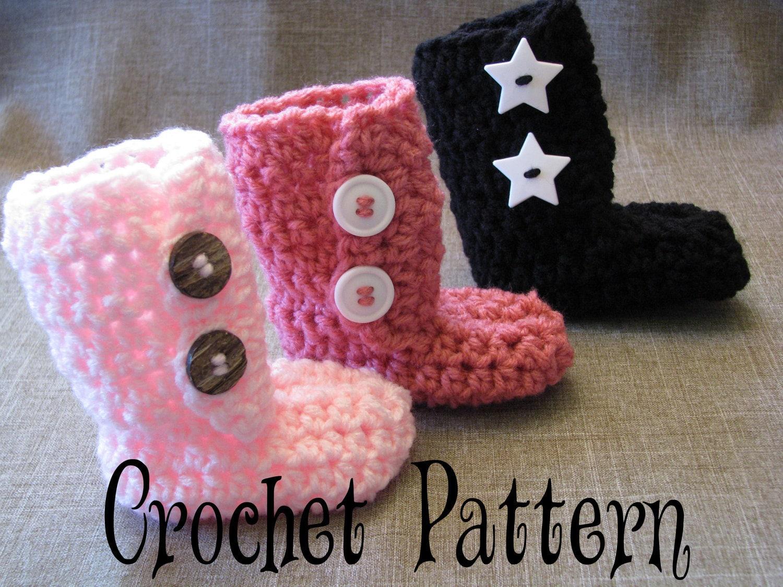 Baby Uggs Free Crochet Pattern
