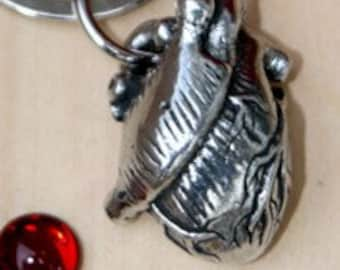 3- D Heart Key chain
