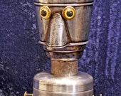 TERRY the TEABOT - found object robot