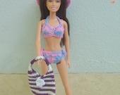 crochet barbie bikini