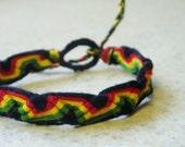 Rasta Wave Bracelet