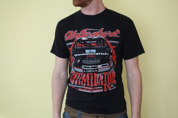 1991 Dale Earnhardt T-shirt, Black, Size Medium