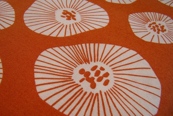 Moira in Apricot, from the Echo Collection by Lotta Jansdotter for Windham Fabrics, 1 Yard