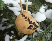 San Bernardo Christmas Ornament with Warrior House Design