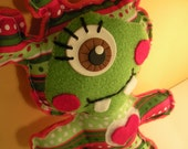 Stuffed Little Monster From Alien Planet Plush Toy