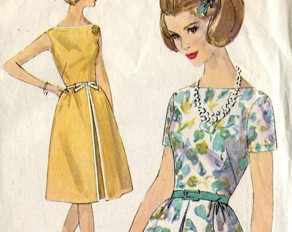 Simplicity 5408 Vintage Dress Sewing Pattern B32