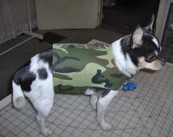 dog vest,dog harness vest with D ring, camoflauge print