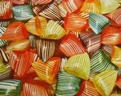 Large Vintage French berlingots  candies fruits tin box