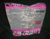Large ACU tote bag