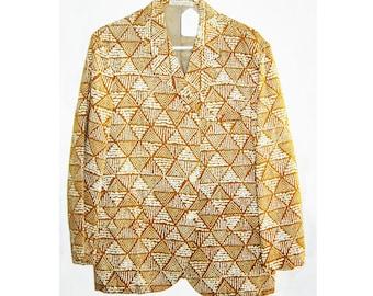 Tiki Print Sports Jacket from Honalulu