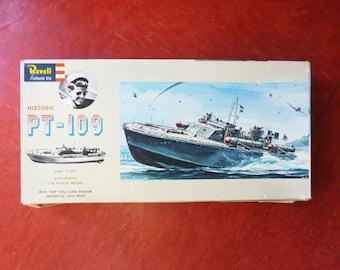 1970s PT-109  Model Boat Kit