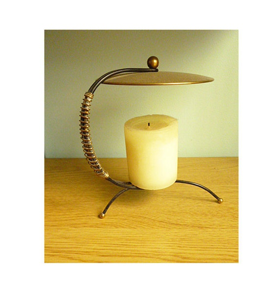 1950s Atomic Candle Holder