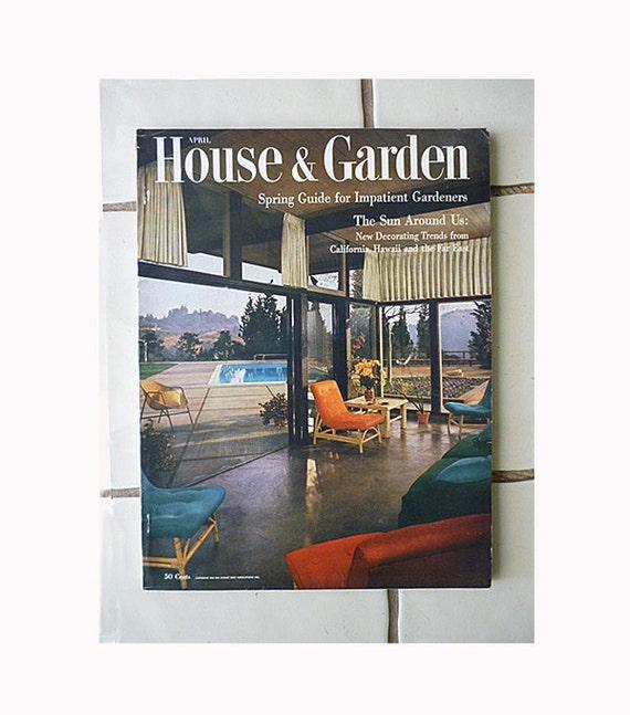 Atomic 1954 House and Garden Magazine