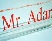Personalized Desk Name Plate - 8""