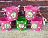 BUBBGLEGUM PINK 10 Quart Bucket - Easter Basket Pail - Halloween Candy Bucket