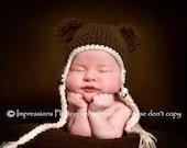 cute little Bear Hat ONLY