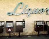 Liquor - 5x7 Fine Art Photography