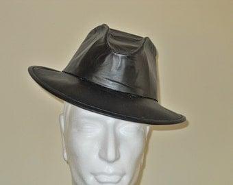 Custom Cowhide Leather Stetson-Fedora Hat - LOWBOY