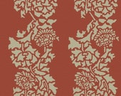 Wall Stencil, Reusable - Damask CHRYSANTHEMUMS - William Morris Inspired DIY Home Decor